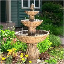 backyard water fountain diy front yard fountain ideas small front