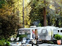 best california camping sunset