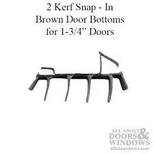 Door Bottom Sweeps For Exterior Doors Snap In Door Sweeps Door Bottom Sweeps All About Doors