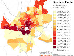 Bonn Germany Map by Price Maps For Germany Empirica Systeme Gmbh