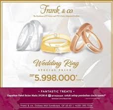galaxy co wedding rings frank co special price wedding ring in galaxy mall gotomalls