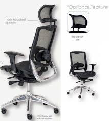 desk chair with headrest office chair headrest extension office designs