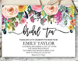 bridal tea party bridal tea party etsy