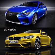 lexus rc f manual bmw m4 vs lexus rc f choose your favorite