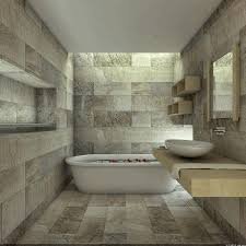 large floor tile integrated wooden wardrobe white porcelain drop