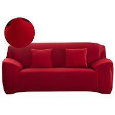 one piece stretch sofa slipcover amazon com scorpiuse stretch sofa cover 1 piece polyester spandex