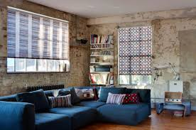interior fresh apple green roller blinds for living room in large