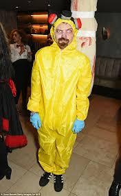 Hazmat Halloween Costume Vanessa White Parades Pert Assets Bodysuit Fishnet Tights