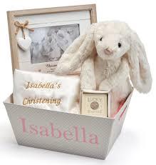 christening gifts christening gifts for girl s christening gift trug set