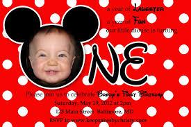 Birthday Invitation Cards Design Mickey Birthday Invitations U2013 Gangcraft Net
