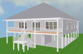 elevated home designs elevated piling and stilt house plans coastal home plans