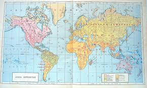 Map Fabric Image Result For World Map 1890 Betty H Family History