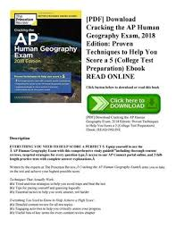 cracking the ap european history 2018 edition proven techniques to help you score a 5 college test preparation pdf cracking the ap u s history 2018 edition