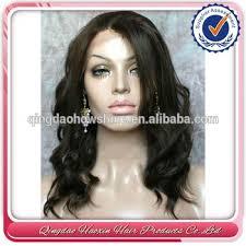 how to style brazilian hair 12 inch short style wavy brazilian hair full lace wig buy short
