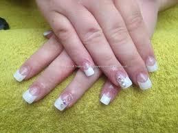 eye candy nails u0026 training full set of acrylic with white tips