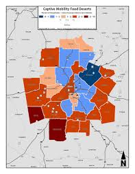Metro Atlanta Map Captive Mobility Food Deserts U2013 Metro Counties Metro Atlanta
