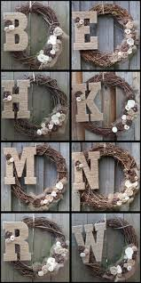 burlap covered letters 67 best letters and numbers images on pinterest home monogram