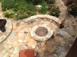 Backyard Stone Fire Pit by Outdoor Stone Firepits Charlotte Nc Masters Stone Group