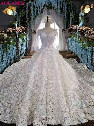 online get cheap crystal wedding gown aliexpress com alibaba group