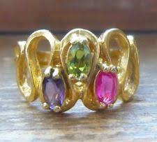 mothers ring 7 stones unbranded alloy three fashion rings ebay