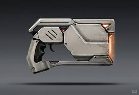 Based Off Of by Wip Scifi Pistol Based Off Of Concept U2014 Polycount