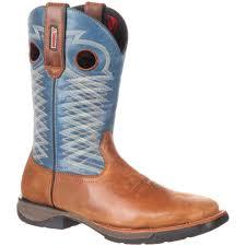 Comfortable Western Boots Rocky Lt Men U0027s Comfortable Lightweight Navy Western Boot
