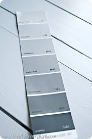 picking out basement paint colors from thrifty decor