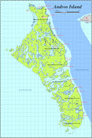 Bahamas World Map Map Of Andros The Bahamas Peter Loud