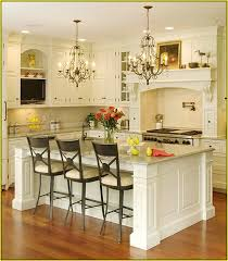 chandelier night stand l attractive kitchen island with chandelier intended for lighting in