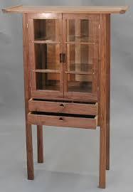 Walnut Cabinet Rick Stein Handmade Custom Furniture