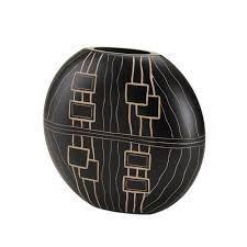 Koehler Home Decor Amazon Com Koehler Home Decor African Inspired Vase Home U0026 Kitchen
