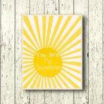 You Are My Sunshine Wall Decor Wall Art Designs You Are My Sunshine Wall Art Printable