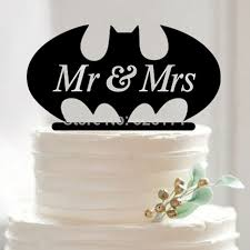 creative acrylic mr u0026 mrs wedding cake topper funny bat wedding