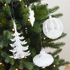 tree glass balls stage ornaments hanging