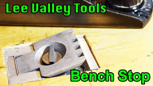 aluminum mortised bench stop lee valley tools frugal fridays 5