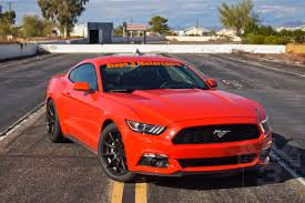 Black And Red Mustang Rims 2015 2017 Mustang Performance Parts