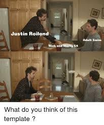 Adult Swim Meme - justin roiland adult swim riek and morty s4 adult swim meme on
