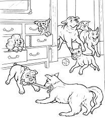 Hotel For Dogs Coloring Pages Dogs Color Pages