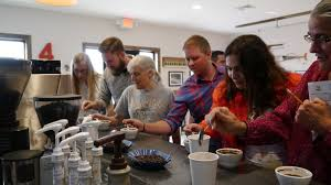 coffee cupping event infusco coffee