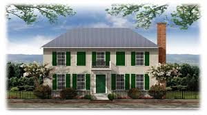 house plan american colonial architecture french plans lrg style