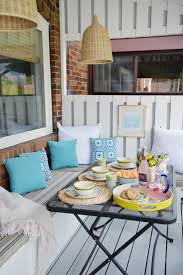 12 stylish porch deck and patio decor ideas setting for four