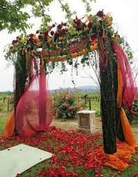 wedding arch leaves simple ways to decorate wedding arch fall wedding arch
