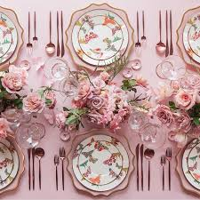 Best  Pink Table Ideas On Pinterest Pink Table Settings Pink - Design a table setting