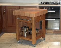 kitchen butcher block islands a butcher block table island can increase the of your