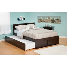 Atlantic Furniture AR Orlando Full Bed With Flat Panel - King size bedroom set malaysia
