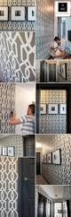black and white trellis wallpaper collection 75