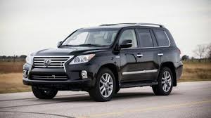 lexus truck lx hennessey supercharges the lexus lx 570 to produce 500 bhp video