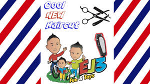 cool kids summer haircut ej3 fun u0026 toys youtube