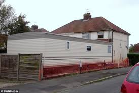 neighbours u0027 fury after family attach 26ft mobile caravan to the