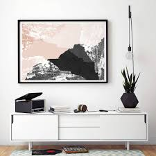 living room prints large abstract wall art print living room art by bronagh kennedy